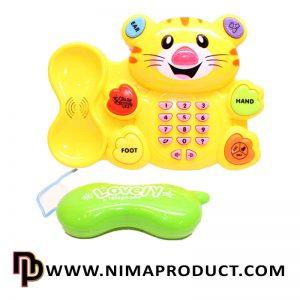 تلفن موزیکال طرح گربه آیتم 9911