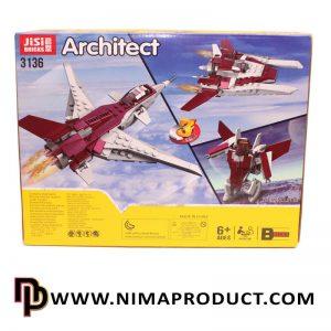 لگو هواپیما برند Jisi مدل Architect 3136