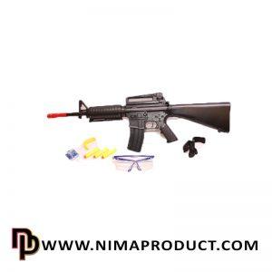 اسباب بازی تفنگ چهار کاره بزرگ مدل M16