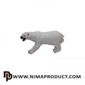 اسباب بازی خرس لاتکس (گوشتی)