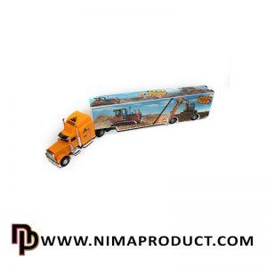 اسباب بازی ماشین کامیون فلزی راه سازی