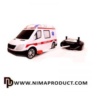 اسباب بازی ماشین کنترلی آمبولانس