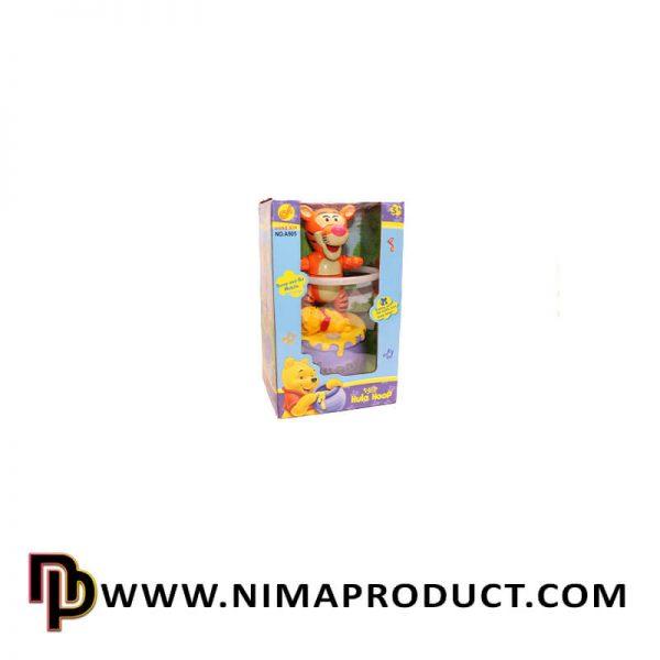 اسباب بازی پلنگ حلقه به کمر موزیکال آیتم 509A