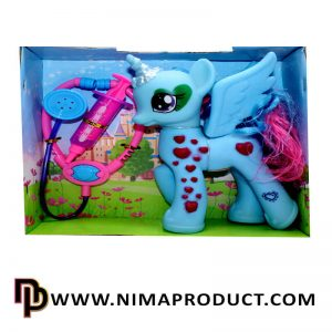 عروسک اسب پونی بال دار موزیکال