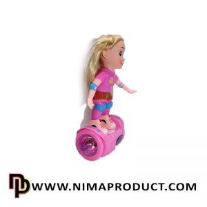 عروسک اسکوتر سوار