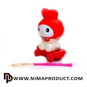 عروسک خرگوش اسکوتر سوار آیتم 081410