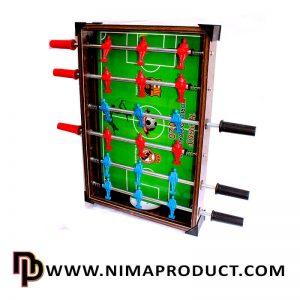 فوتبال دستی چوبی پایه دار