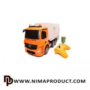 کامیون حمل زباله کنترلی برند EE مدل 560003