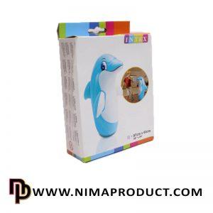 کیسه بوکس بادی اینتکس طرح دلفین مدل 44669